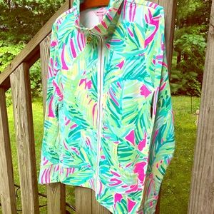 Lilly Pulitzer Full Zip Popover NWOT